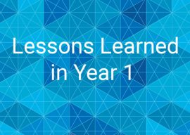 Words of Wisdom: Lessons from Year 1