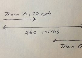"""The Bad Rep of Word Problems: """"Two trains leave the station…"""""""