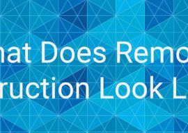 What Does Remote Instruction Look Like?